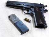 Colt Model 1911 Civilian Government Model 45 A.C.P. 1920 Production