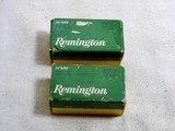 Remington Last Style 22 W.R.F. Boxes