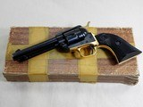 Colt Frontier Scout Dual Tone 22 Single Action Revolver With Original Box - 1 of 18