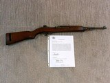 Winchester Late Production M 1 Carbine From The Winchester Firearms Collection In New Haven Conn.