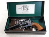 United States Firearms Manufacturing Co. Single Action Army 45 Colt With Original Box And Papers - 3 of 24