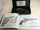 United States Firearms Manufacturing Co. Single Action Army 45 Colt With Original Box And Papers - 2 of 24