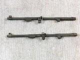 Two M1 Carbine Barrels Top Barrel Rock-Ola Bottom Barrel Underwood