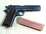 Colt Model 1911 Military 1917 Production In Minty Condition