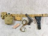 Colt Model 1911-A1 1942 Pistol Rig