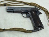 Colt Model 1911 Military 1918 Production With Heart Shaped Openings In Grip Frame - 6 of 19