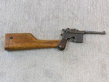 System Mauser Model 1896 - 16 Military Broomhandle Pistol Rig - 7 of 20