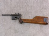 System Mauser Model 1896 - 16 Military Broomhandle Pistol Rig - 8 of 20