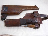 System Mauser Model 1896 - 16 Military Broomhandle Pistol Rig - 3 of 20