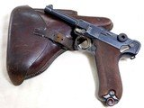 D.W.M. German Military Issued Luger Pistol Rig