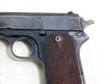 Colt Model 1905 With The Rare Factory Shoulder Stock Cut Out - 8 of 19