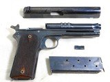 Colt Model 1905 With The Rare Factory Shoulder Stock Cut Out - 18 of 19