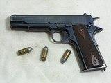 Colt Civilian Model 1911 45 A.C.P. Pistol 1923 Production
