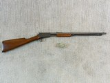 Winchester Model 1906 Early Production 22 Pump Rifle