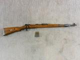 dot Coded K 98 Rifle For Waffen Werke Brunn A.G. Brunn