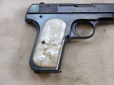 Colt Model 1908 In 380 A.C.P. With Reproduction Box And Period Pearl Grips. - 6 of 17