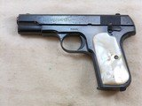 Colt Model 1908 In 380 A.C.P. With Reproduction Box And Period Pearl Grips. - 4 of 17