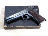 Colt Civilian Model 1911 1920 Production With It's Original Box And Papers