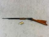 Winchester Model 1890 [90] Pump Rifle In 22 W.R.F.