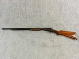 Winchester Model 1890 In Rare Semi Deluxe With Factory Letter - 7 of 25