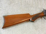 Winchester Model 1890 In Rare Semi Deluxe With Factory Letter - 3 of 25