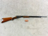 Winchester Model 1890 In Rare Semi Deluxe With Factory Letter