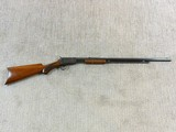 Winchester Model 1890 In Rare Semi Deluxe With Factory Letter - 2 of 25