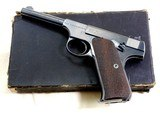 Colt Woodsman First Series Sport Model With Original Box