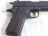 Ithaca Gun Co. Model 1911-A1 World War 2 Service Pistol - 6 of 17