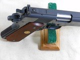 Colt National Match Mid Range 1911 Pistol With Original Box Chambered For The 38 Special - 11 of 22