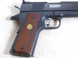 Colt National Match Mid Range 1911 Pistol With Original Box Chambered For The 38 Special - 9 of 22