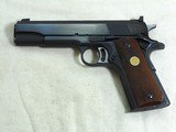 Colt National Match Mid Range 1911 Pistol With Original Box Chambered For The 38 Special - 4 of 22