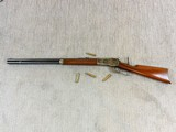Winchester Model 1886 Standard Rifle In Wonderful Color Cased Finish 45-90 W.C.F.