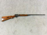 Winchester Model 63-A With Grooved Top For Scope Mounting
