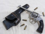 Colt Model Police Positive Pequano Model With Factory Letter