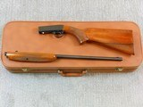 Browning Arms Co. 22 Automatic Rifle With Wheel Sight For 22 Short With Case - 2 of 25