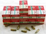 Remington Hi Speed 22 Longs In The Red, White And Green Box