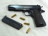 Colt Model 1911 A1 Early Post War 38 Super With Scarce Fat Barrel And Box - 5 of 23