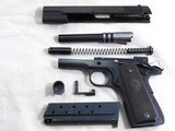 Colt Model 1911 A1 Early Post War 38 Super With Scarce Fat Barrel And Box - 20 of 23