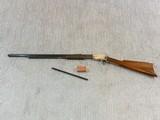 Winchester Model 1890 Gallery Gun With The Rare Half Nickel Finish