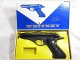 Whitney Wolverine 22 Long Rifle Self Loading Pistol With Original Box