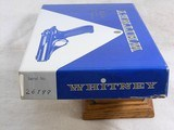 Whitney Wolverine 22 Long Rifle Self Loading Pistol With Original Box - 3 of 18