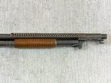Winchester Model 1897 Trench Shotgun In Very Rare Civilian Model - 12 of 25