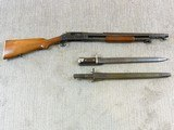 Winchester Model 1897 Trench Shotgun In Very Rare Civilian Model - 2 of 25