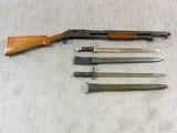 Winchester Model 1897 Trench Shotgun In Very Rare Civilian Model - 3 of 25