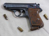 Walther Pre War PPK Commercial Series 32 A.C.P.