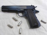 Colt Post War Model 1911 A1 First Year Production 38 Super With Fat Barrel