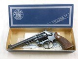 Smith & Wesson Model 17-2 K22 Masterpiece With Original Box And Accessories