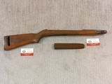 Original Late Rock-Ola M1 Carbine Stock And Handguard