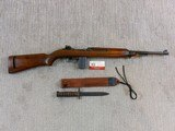 Inland Division Of General Motors M1 Carbine Late Production With Bayonet